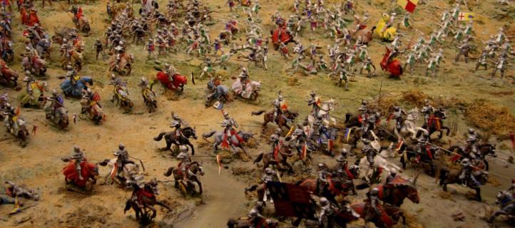 Bosworth Battlefield John Battlefield Campo de batalla Guerra medieval Caballería